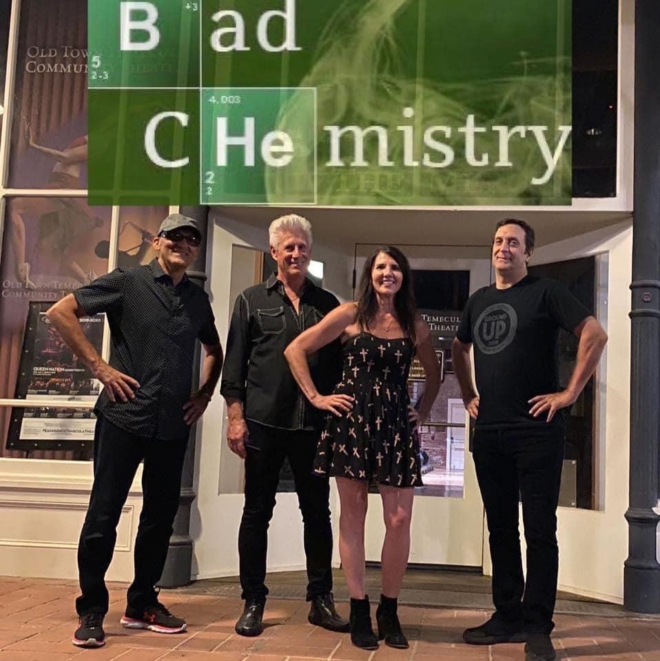 Tem,ecula entertainment Bad Chemistry